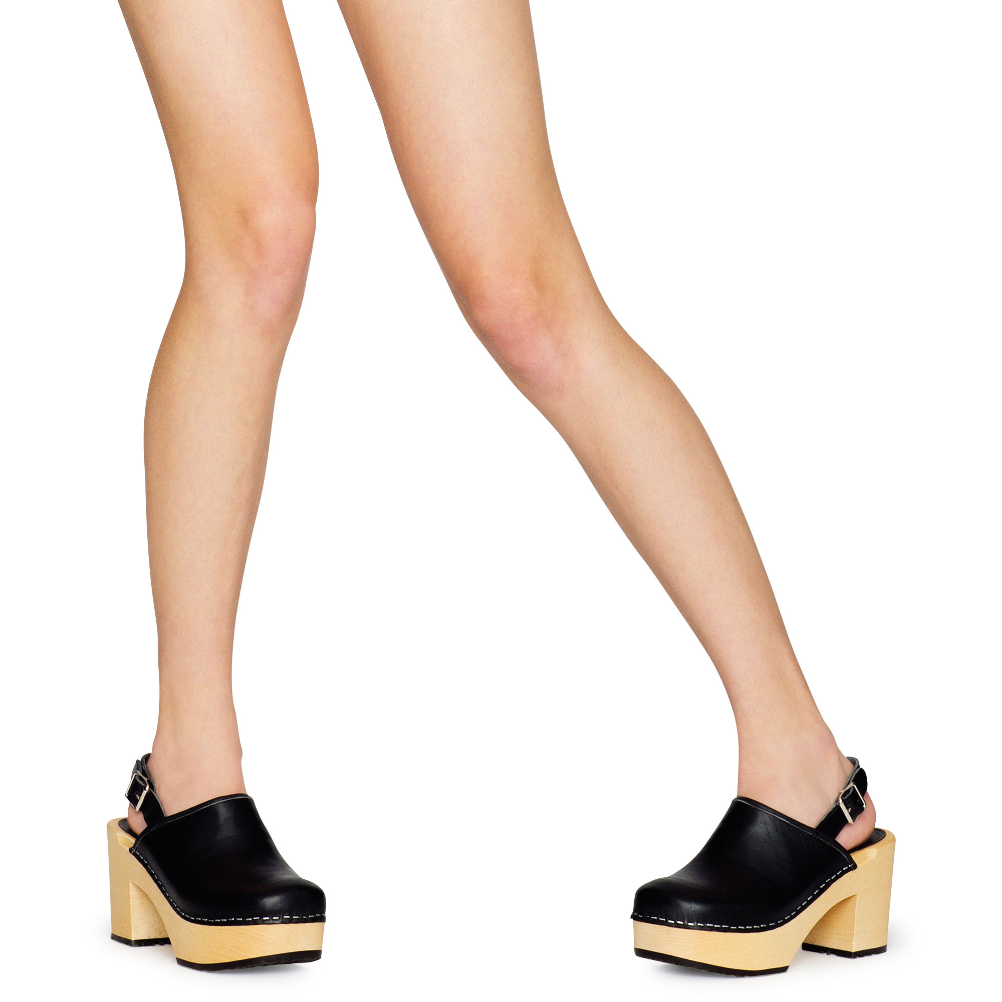 069a74f743a OutOfStock  Outlet Swedish Hasbeens Outlet SS18 Black. Product image Jill  Plateau