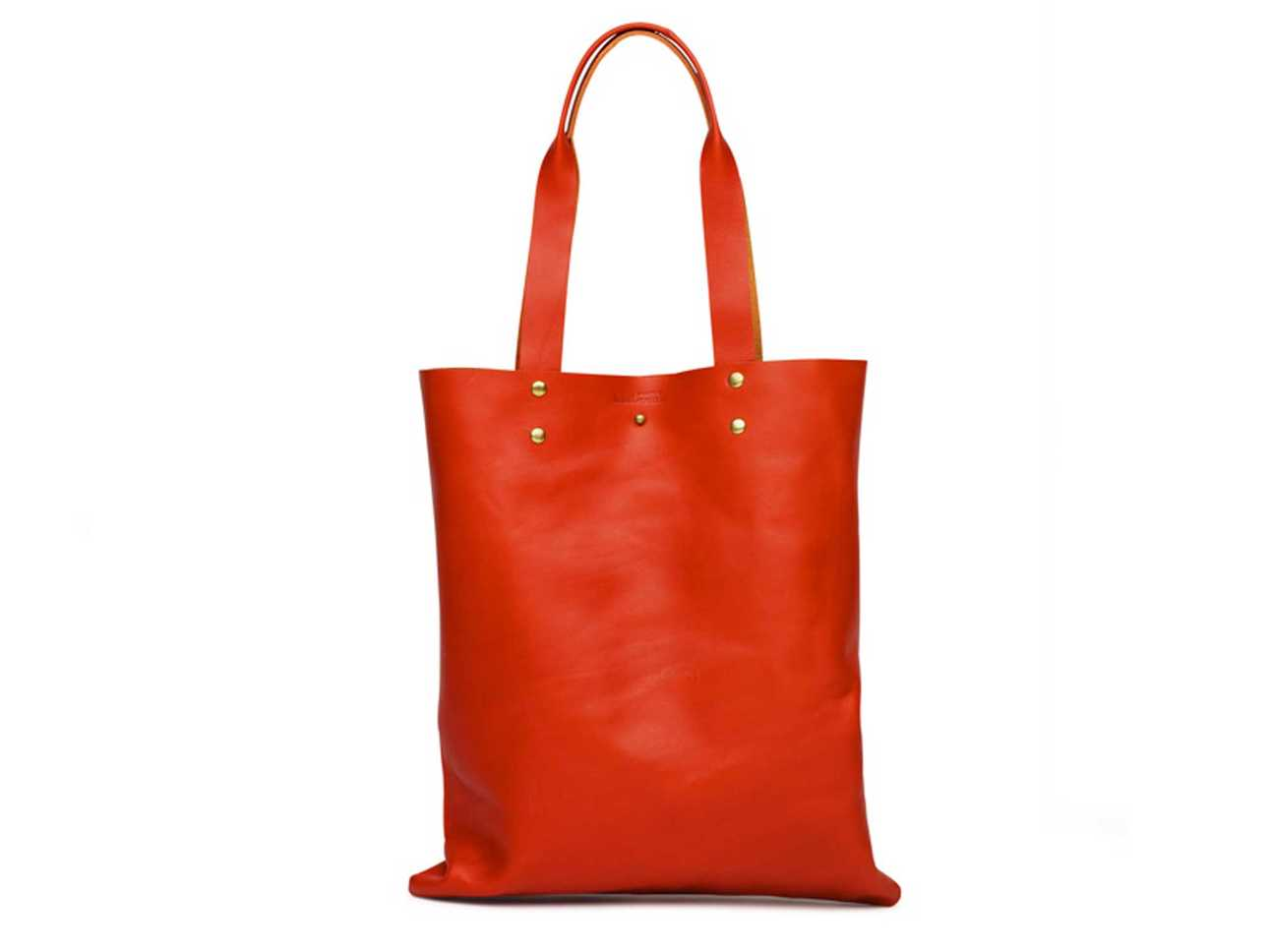 Button Bag for Life Red