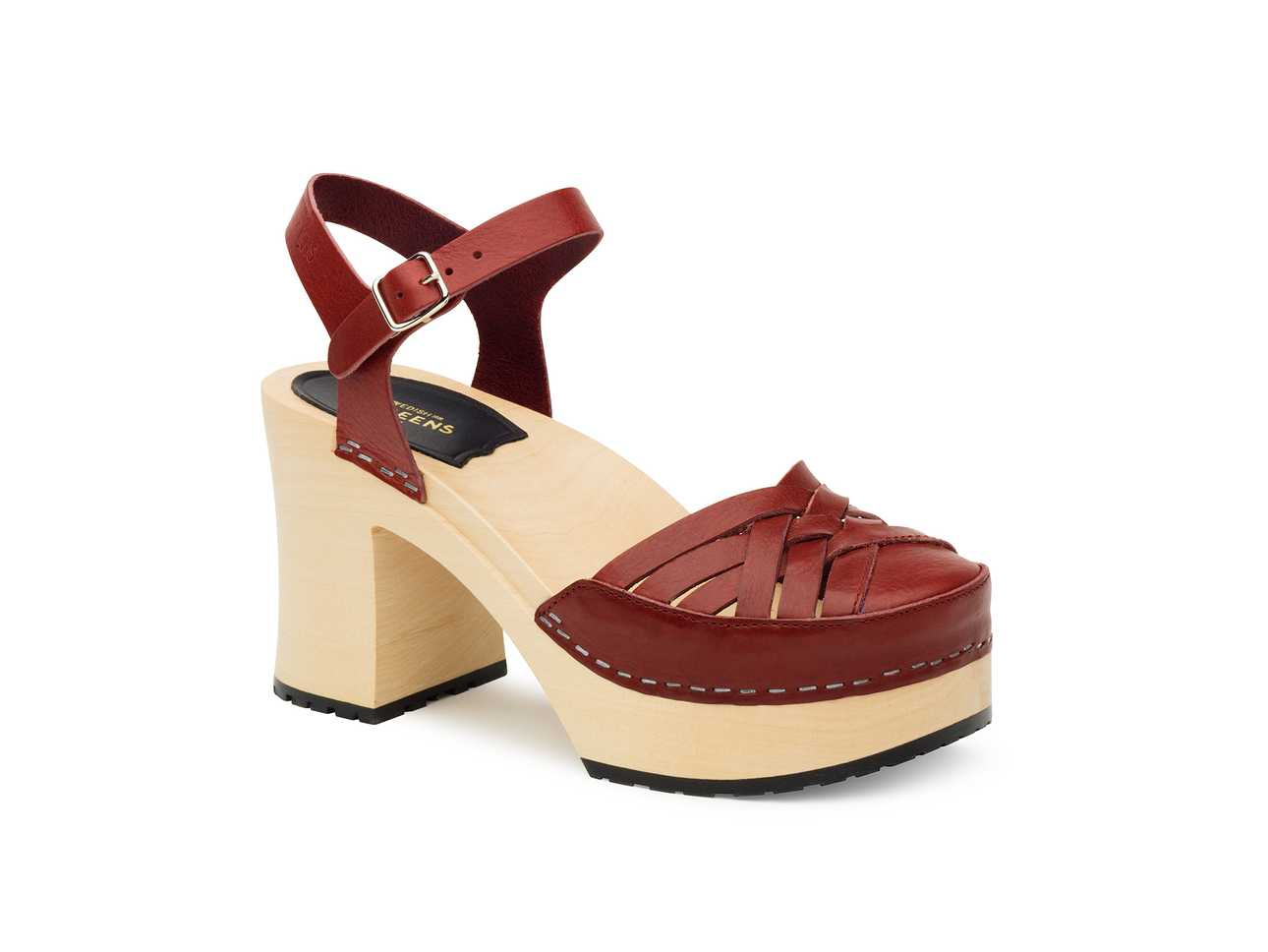 Elephant Sandal Wine red