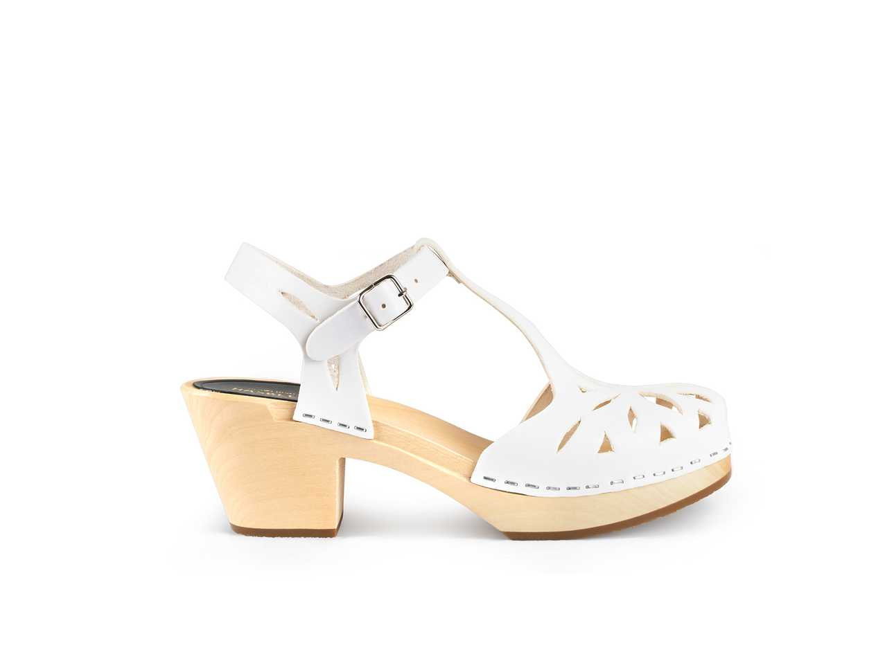 Lacy Sandal White