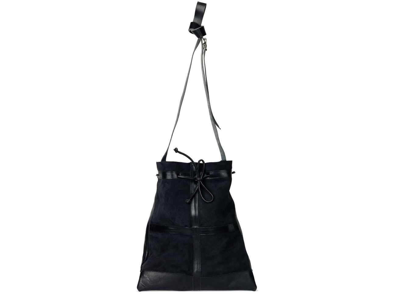Shearling Bag Black