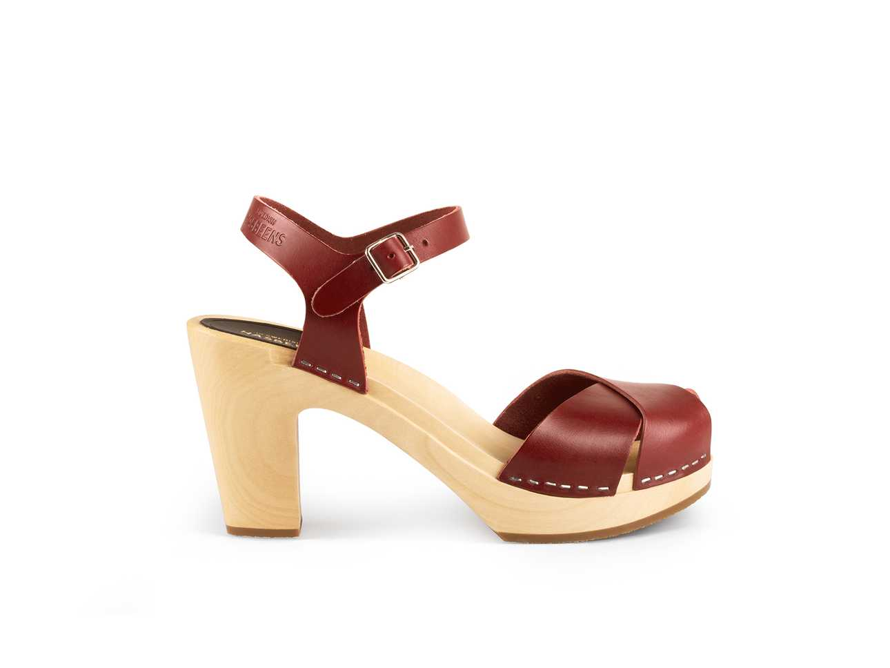 Merci Sandal Wine Red