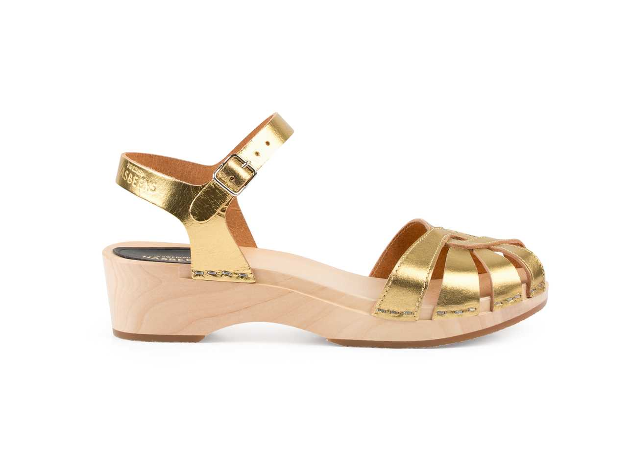 Cross Strap Debutant Gold