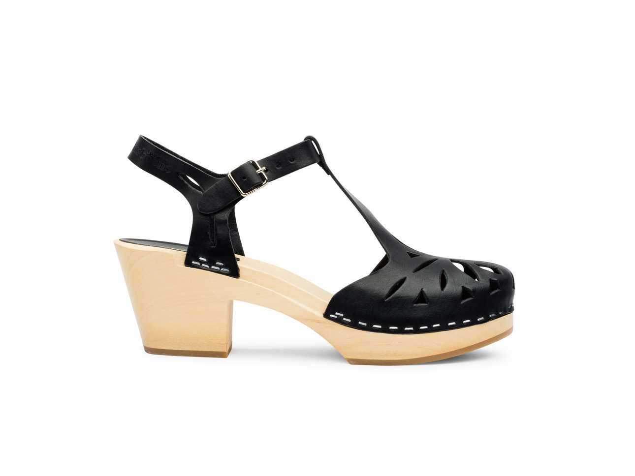 Lacy Sandal Black