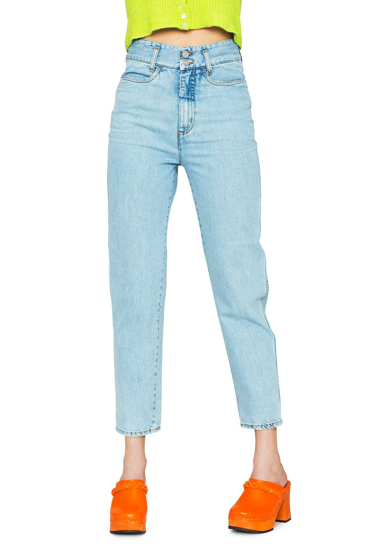 Mom Jeans Denim Light Denim