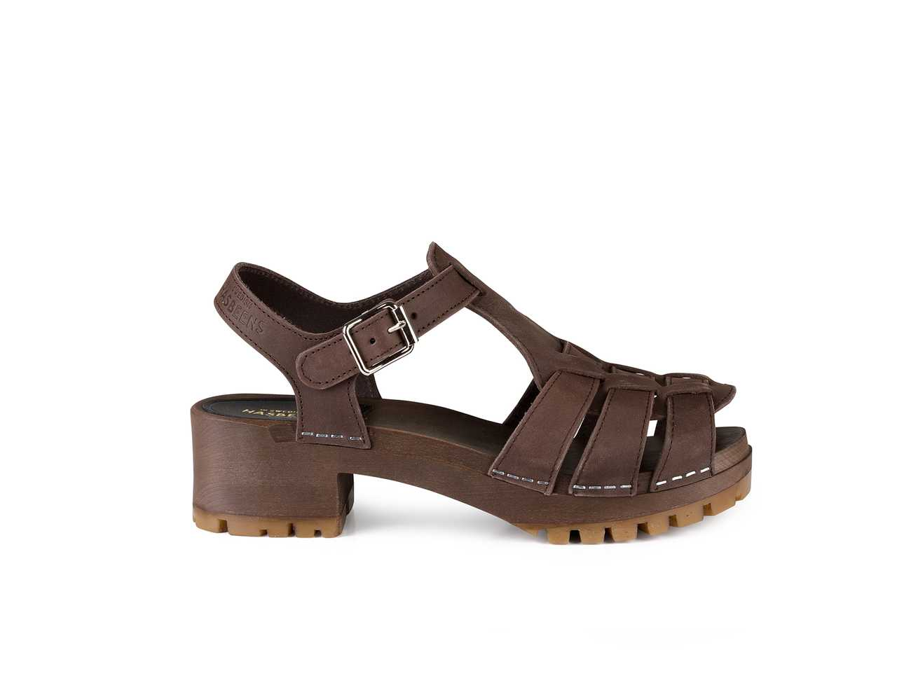 Grunge Sandal Chocolate Brown Nubuck / Chocolate Brown Sole