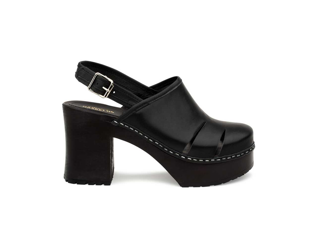 Baskemölla Slingback Black/black Sole