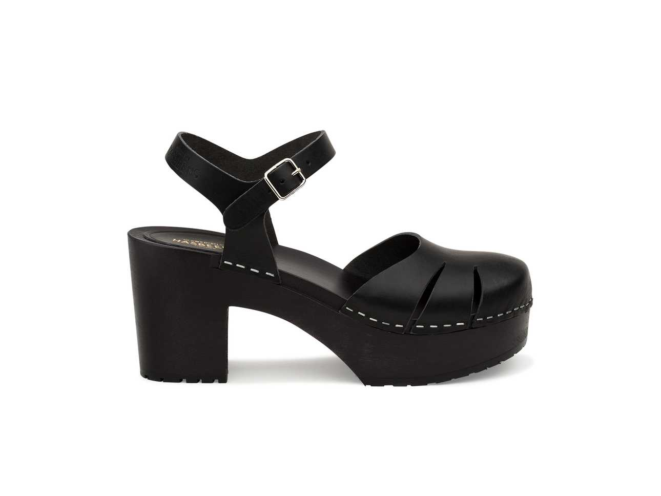 Baskemölla Sandal Black/black Sole