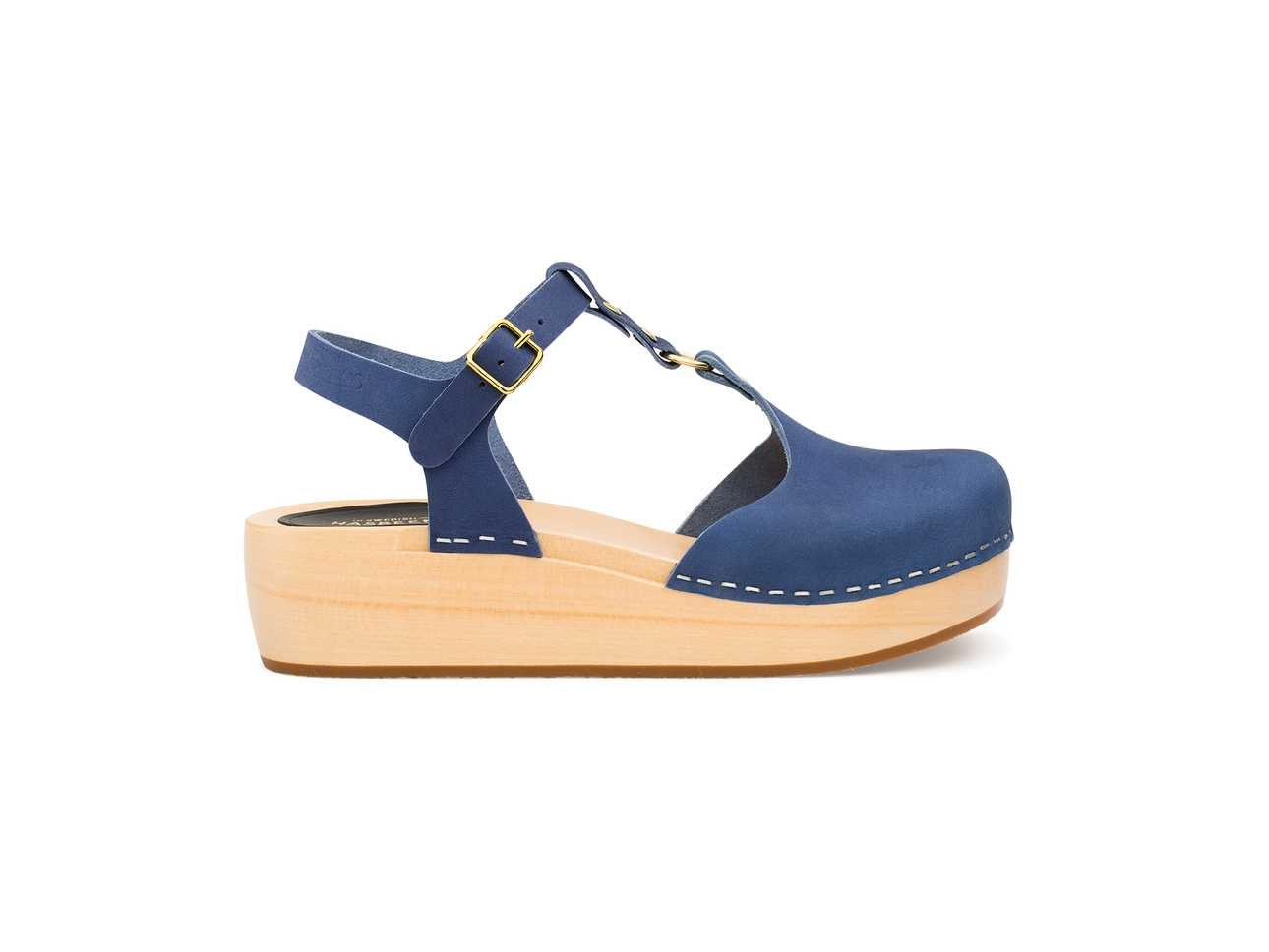 Ring Sandal  Blue Nubuck