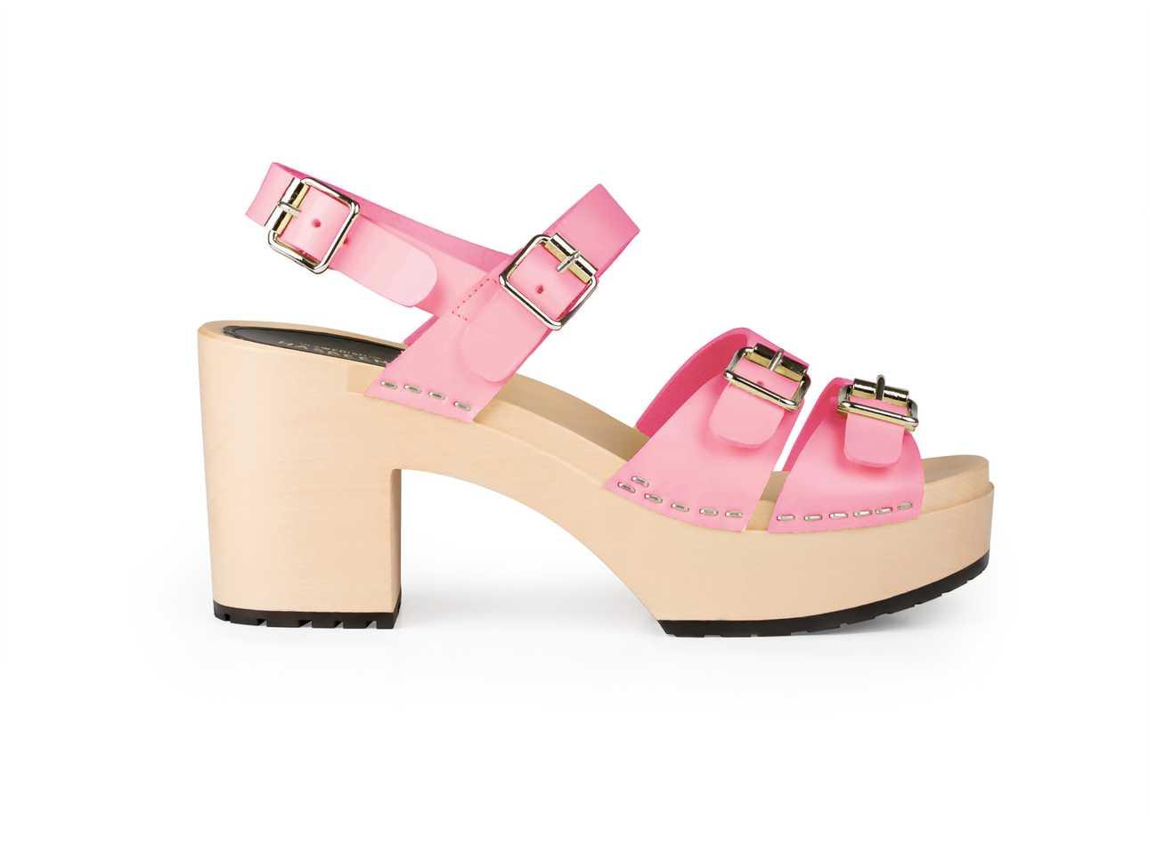 Buckle Sandal Bubble Gum Pink