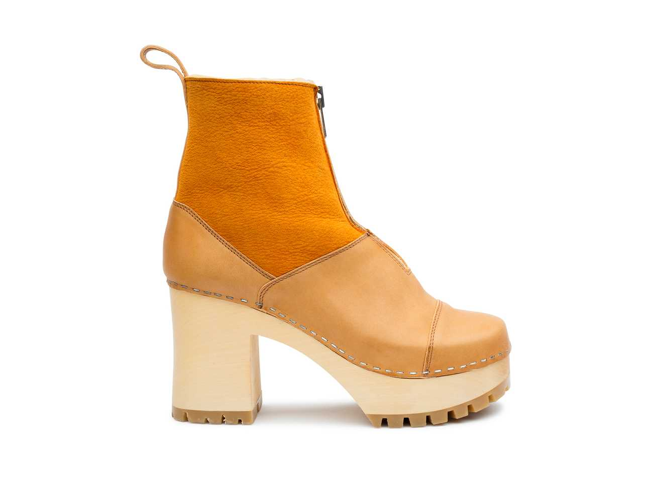 Grunge Boot Shearling Nature
