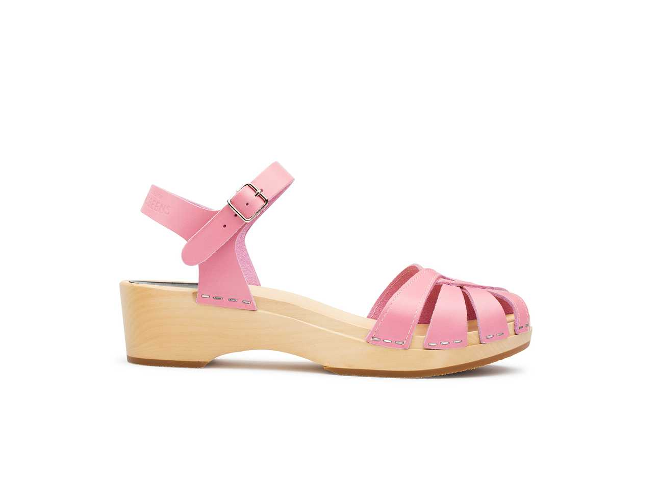 Cross strap Debutant Bubble Gum Pink