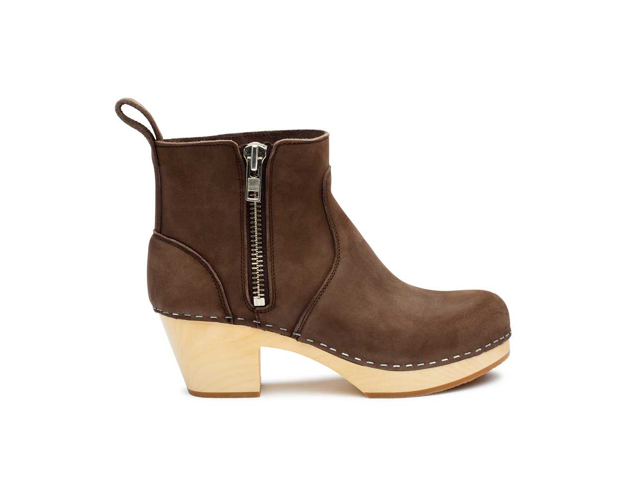 Zip It Emy Chocolate Nubuck