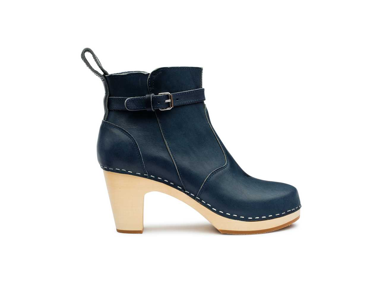 High Heeled Jodhpur Dark Blue