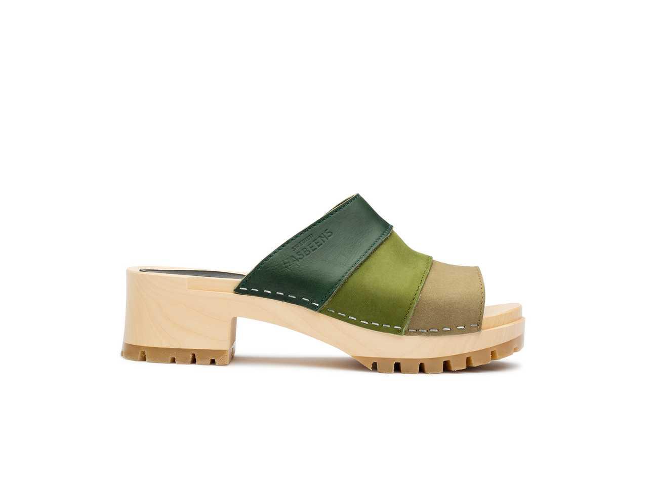 Mona Green Nubuck Color Combo