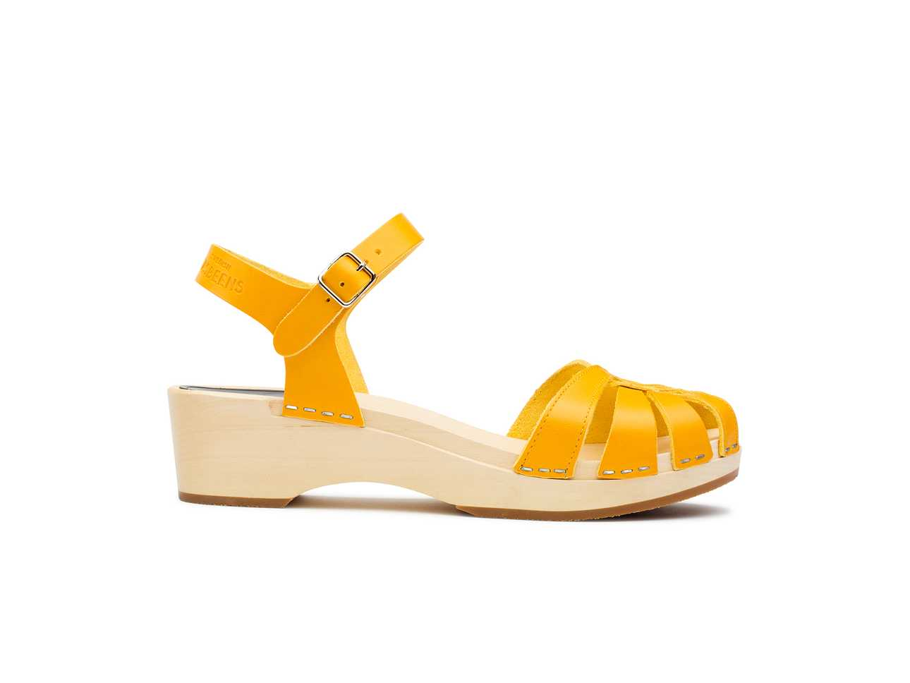 Cross Strap Debutant Warm Yellow