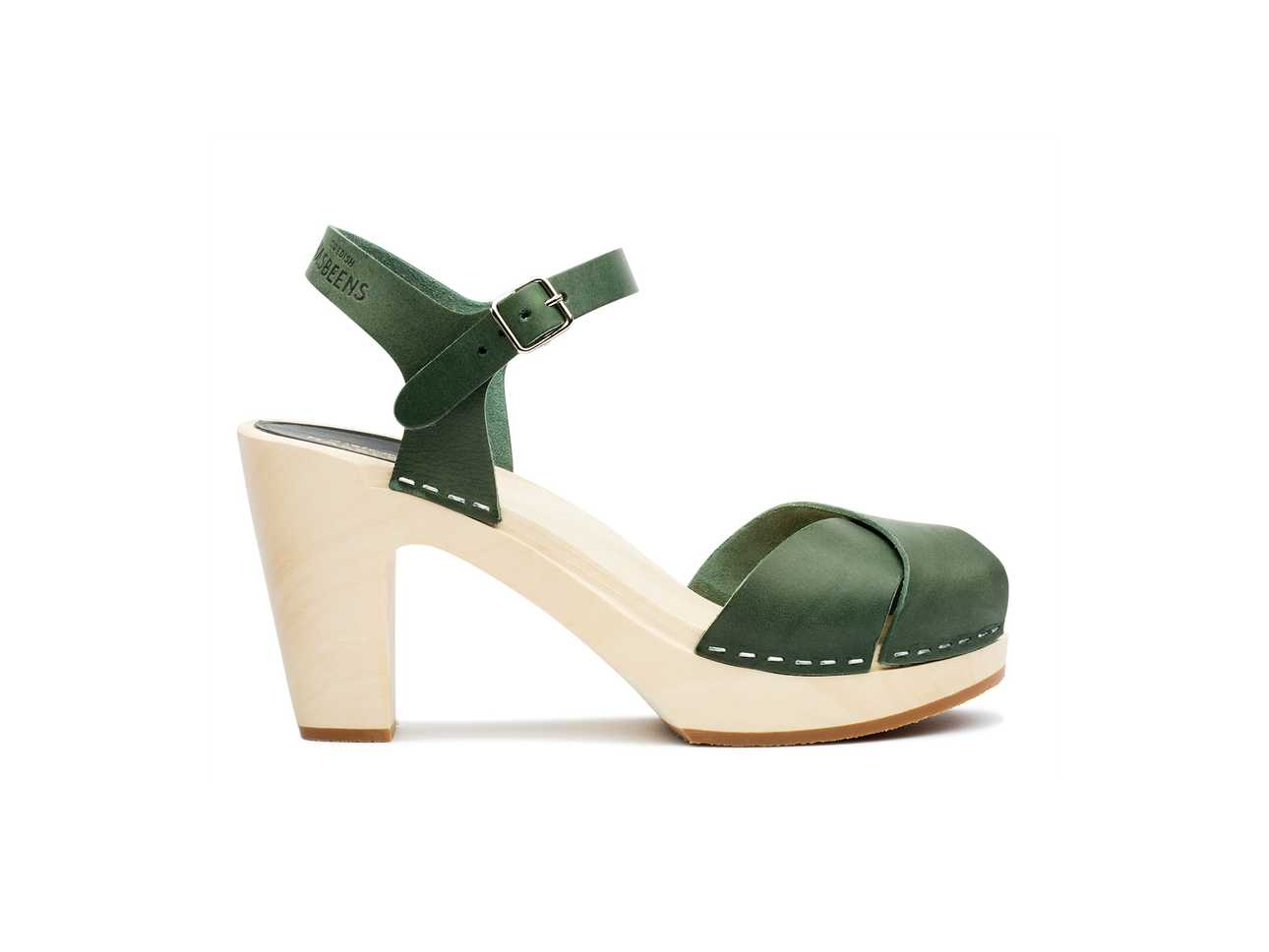 Merci Sandal Deep Green