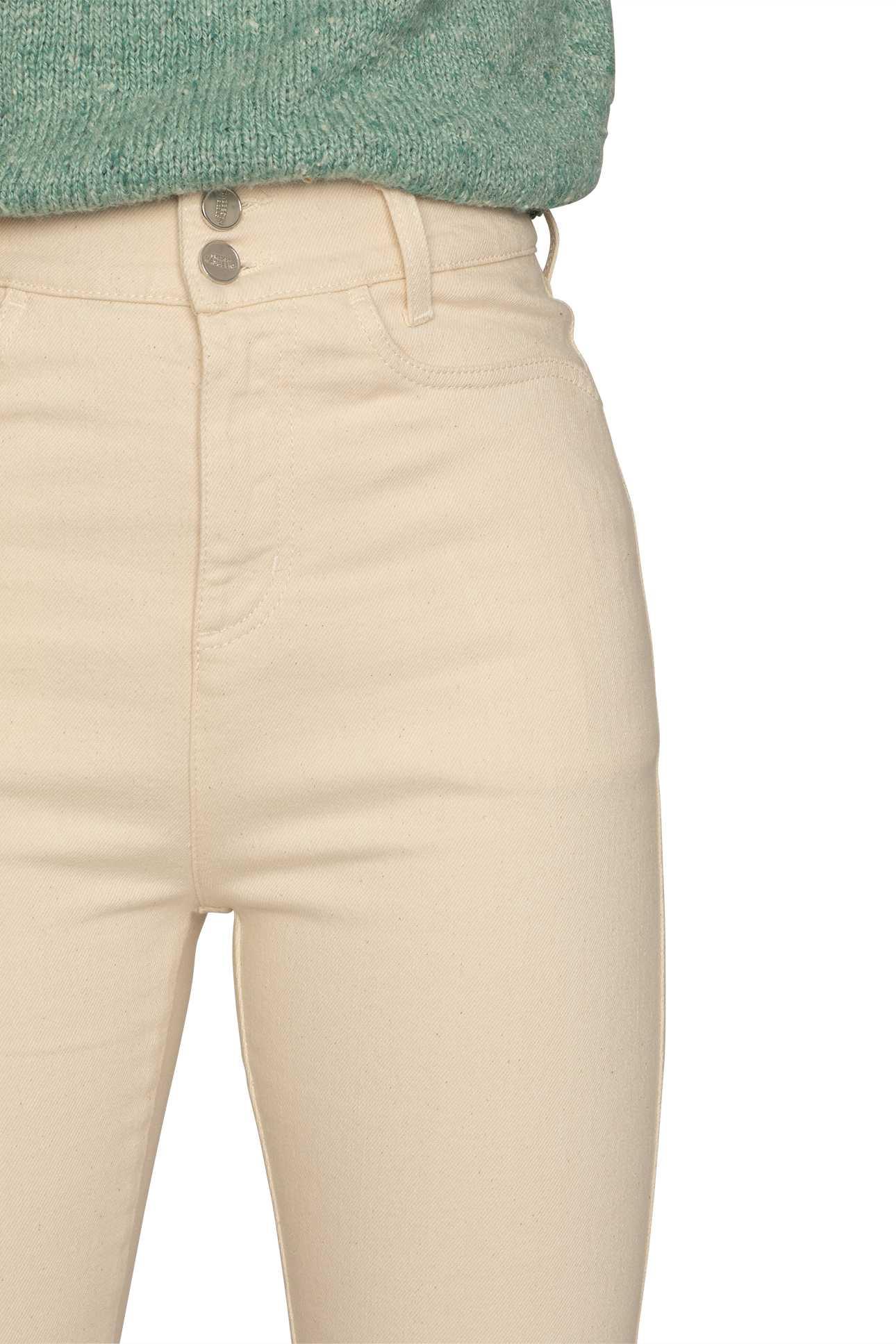 Product image Short Boot Cut Pants Denim
