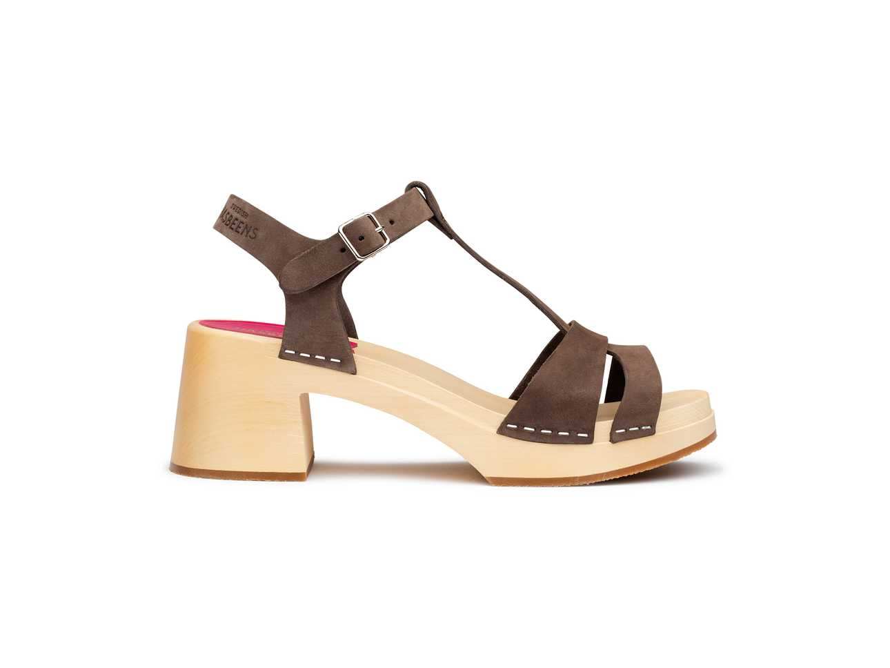 Birgit Chocolate Brown Nubuck