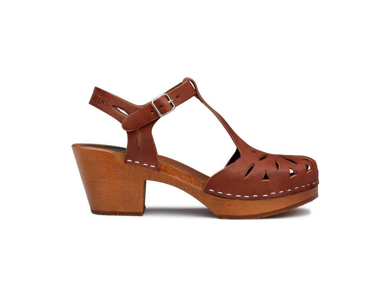 Lacy Sandal cognac/cognac sole