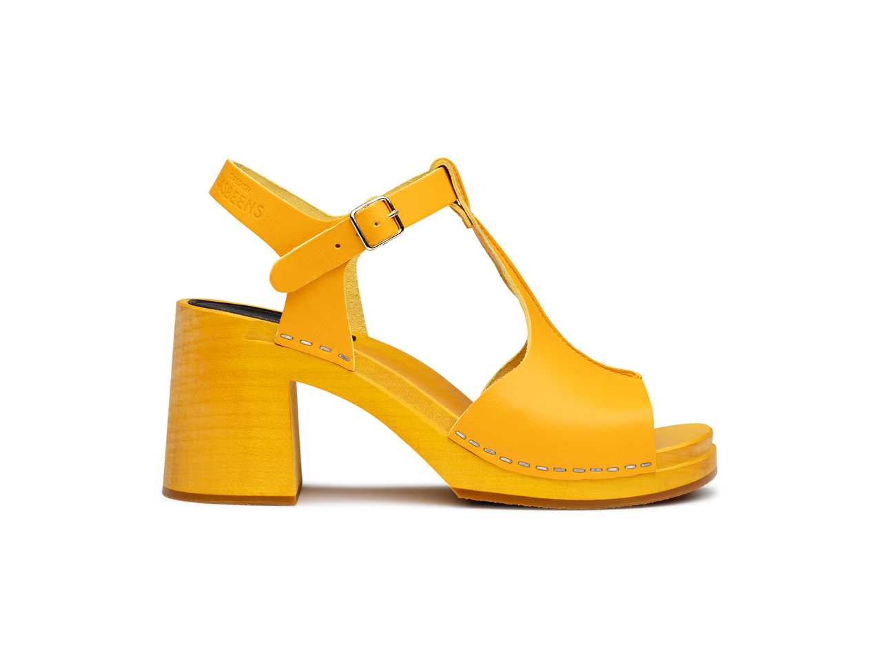 Stitchy sandal Yellow/yellow