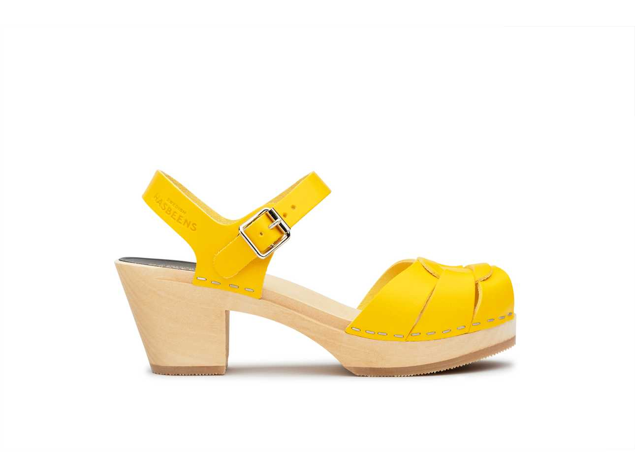 Peep toe High Yellow