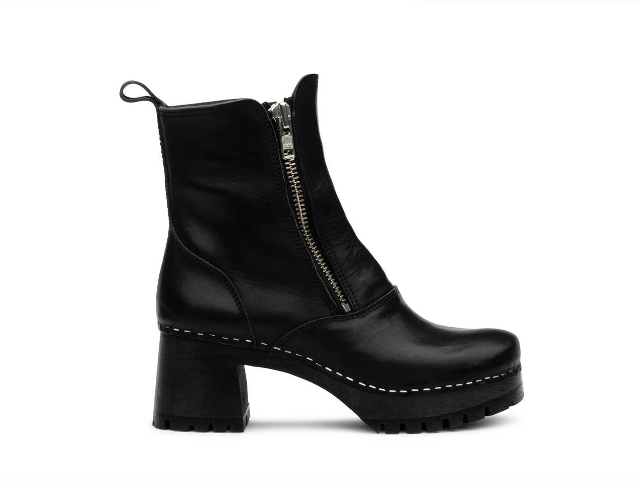 Biker Boot Black/ black sole