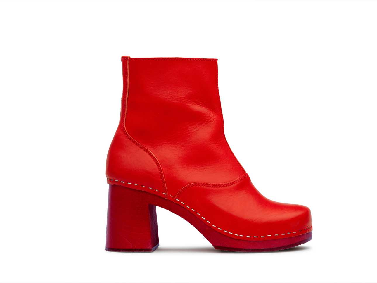 60's boot Red/red sole