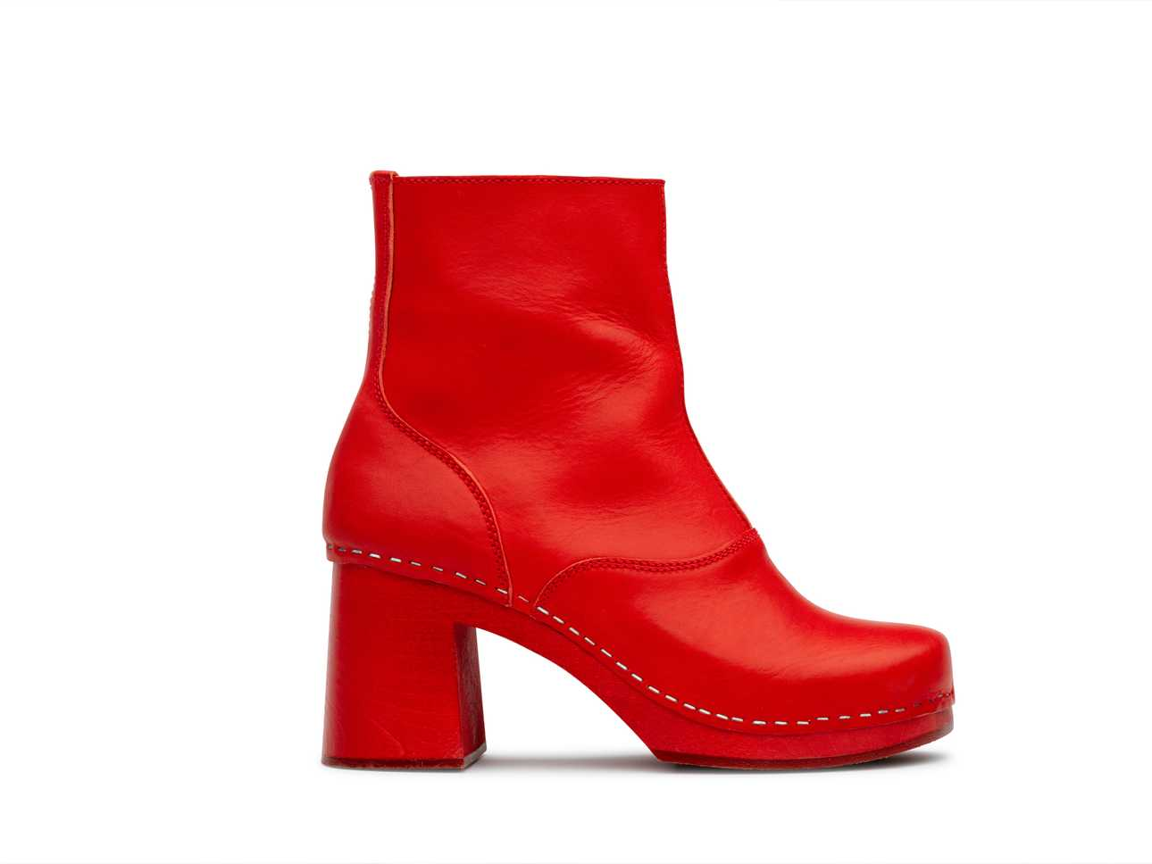60s boot Red/red sole