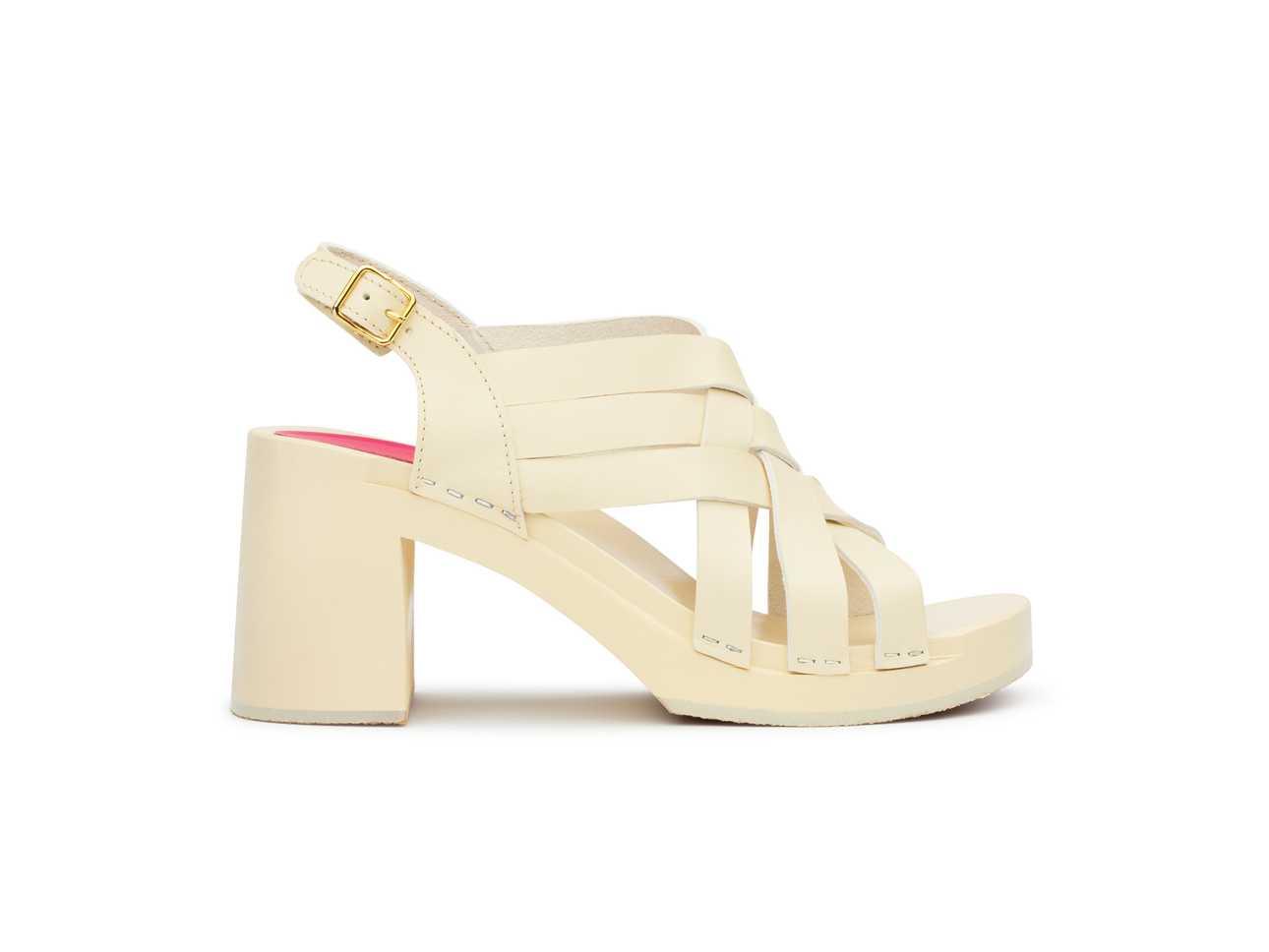 Vivi Creamy white/creamy white sole