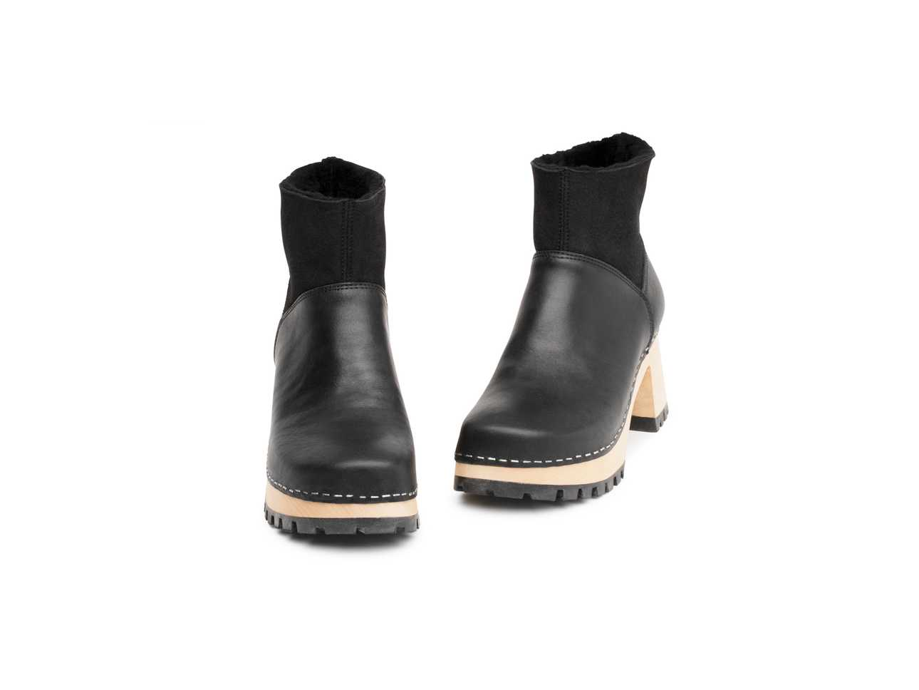 Slip On Bootie Black