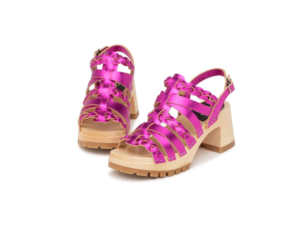 Madde Hot Pink Metallic