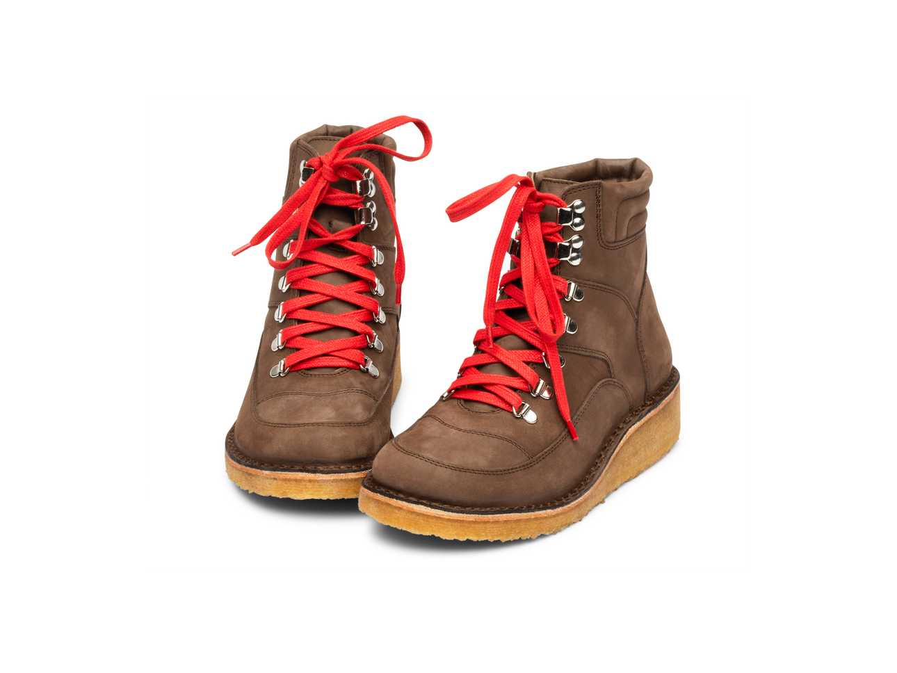 Rubber Trail Boot Brown Nubuck